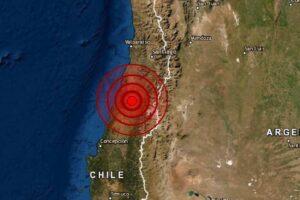 Sismo en Maule, Chile