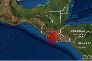 Sismo en Guatemala y el Salvador