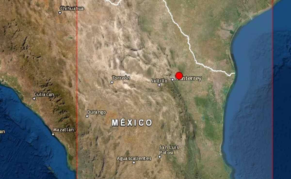 Sismo en Nuevo León, Monterrey