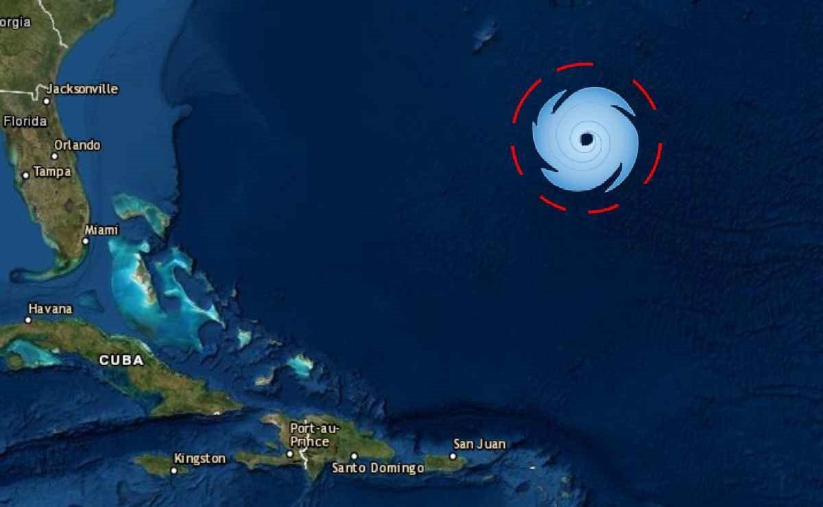 Tormenta Epsilon en el Caribe