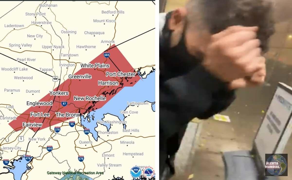 Advertencia de tornado en Nueva York