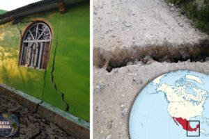 Alertan sobre un posible nacimiento de un volcán en Matzam Chiapas México