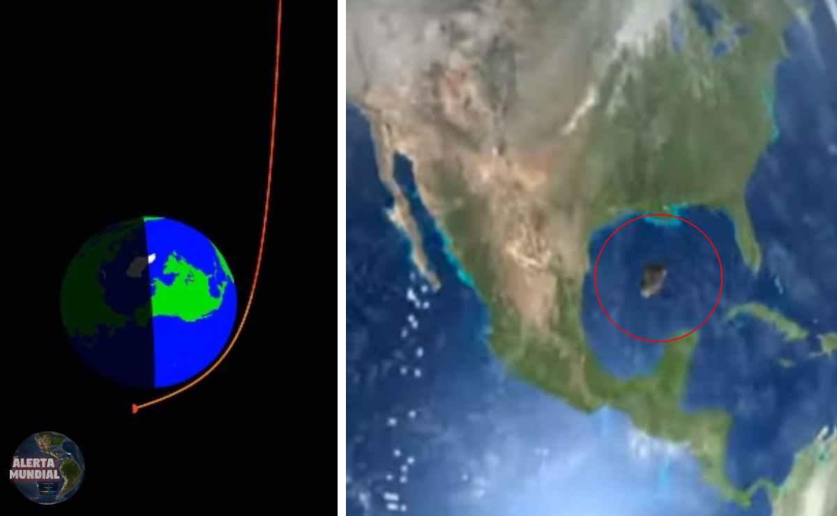 Asteroide roza la tierra el viernes 13