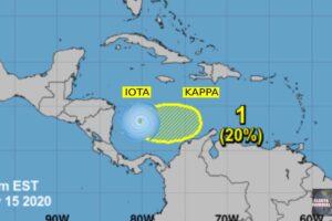 Depresión tropical Kappa