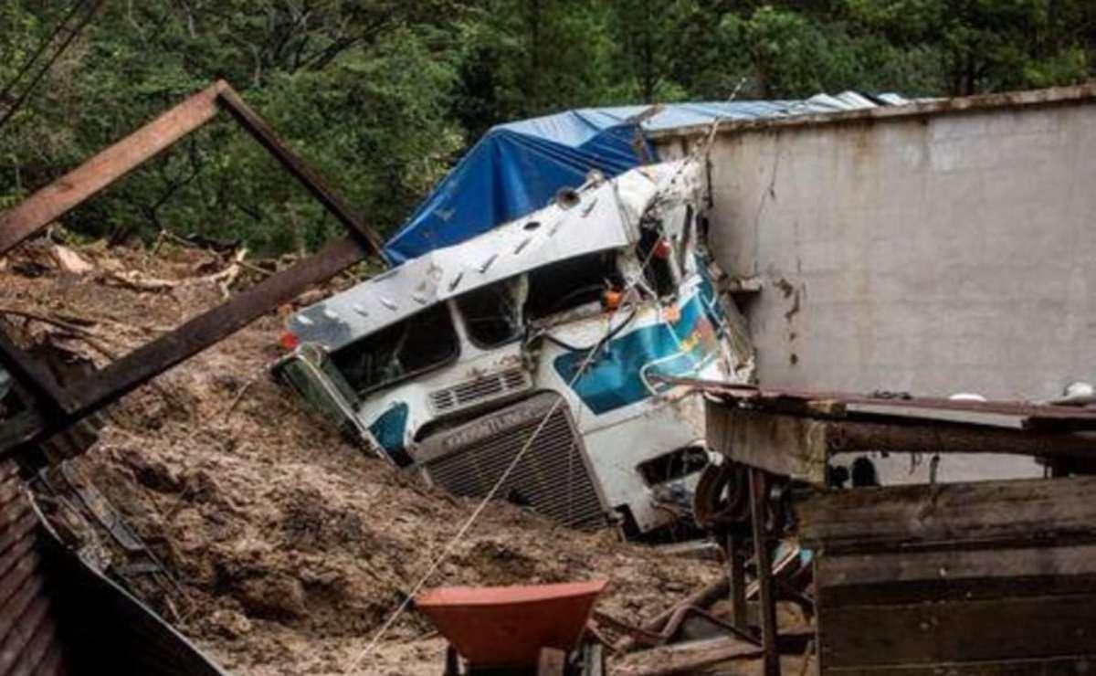 Deslizamiento de tierra Queja en Guatemala