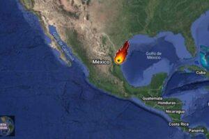 Enorme meteorito captado en Texas tan lejos como en Monterrey