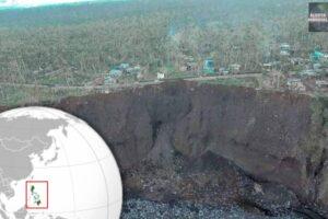 Erosión en Albay de Filipinas