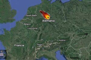 Meteorito en Alemania
