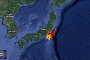 Meteorito en Japón