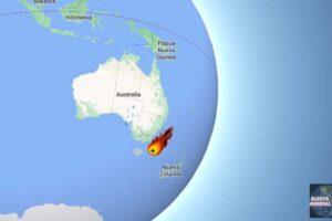 Meteorito en Tasmania