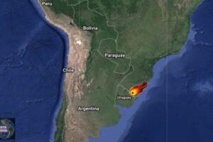 Meteorito explota cerca de la frontera de Brasil con Uruguay