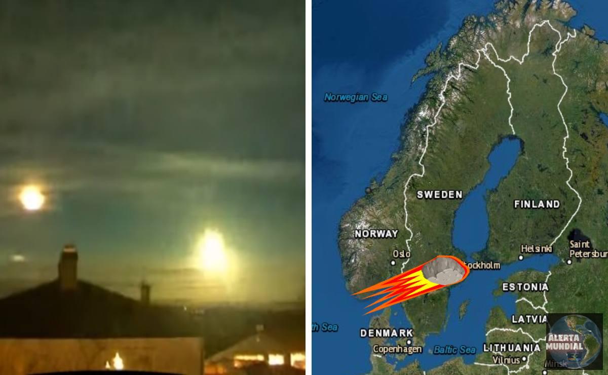 Meteoro visto en Noruega tan lejos como en Suecia y Finlandia