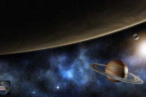 Raro fenómeno alineación planetaria en el espacio