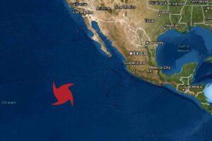 Se forma la tormenta Tropical Odalys en el pacifico de México