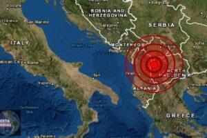 Sismo de magnitud 5.0 sacude Macedonia y Albania