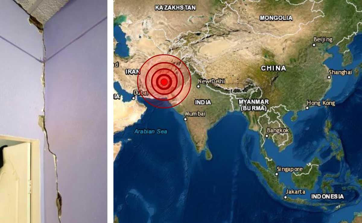 Sismo de magnitud 5.5 sacude Pakistán