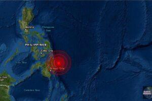 Sismo de magnitud 6.1 Mindanao de Filipinas
