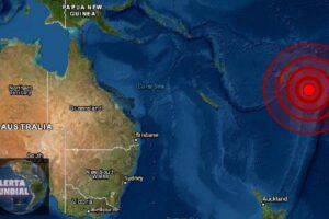 Sismo en Fiji y Tonga (EMSC)