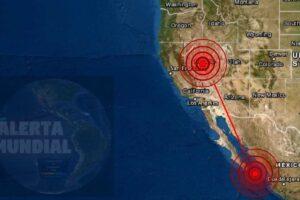 Sismo en Nevada y México este viernes 13