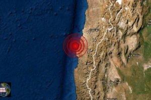 Sismo en atacama de Chile
