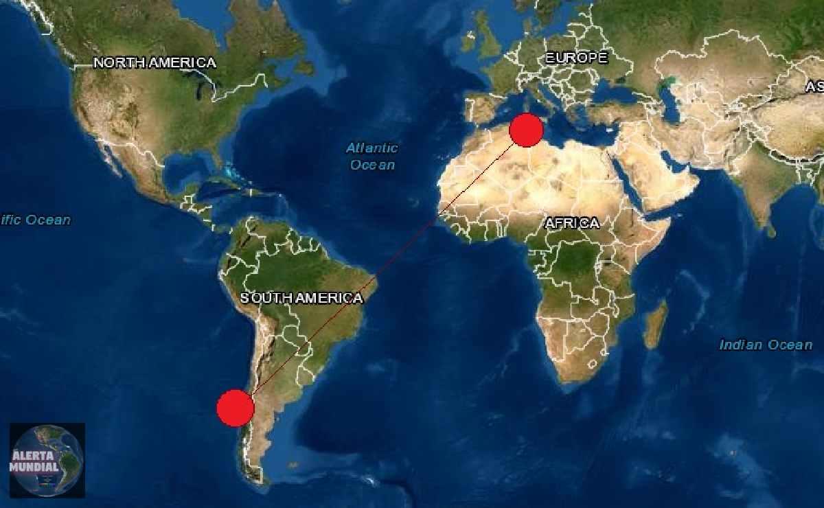 Sismos en Chile y Argelia