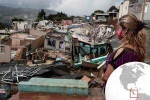 Terremoto en cámara lenta desaparece poco a poco un pueblo en Costa Rica
