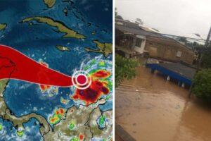 Tormenta tropical Iota afecta Colombia