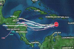 Tormenta tropical Iota amenaza Centroamérica