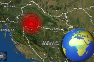 Dos fuertes sismos gemelos golpean Croacia Informes de daños