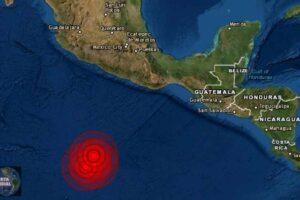 Dos sismos en el Pacífico de México