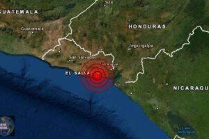El Salvador esta siendo golpeado por un enjambre sísmico