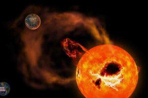 El Sol emitió su mayor llamarada solar en años