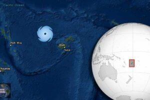 En Vivo Ciclón Yasa en curso para golpear Fiji como tormenta Cat 5