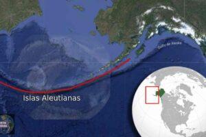Grupo de islas de Alaska puede pertenecer a un solo volcán gigante