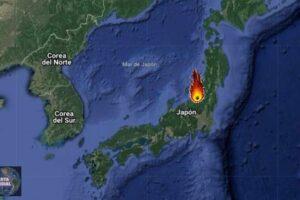 Meteorito en Niigata de Japón