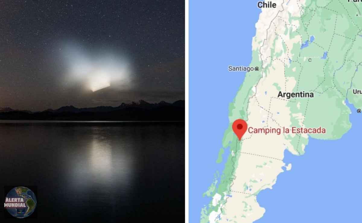 Misteriosa luz que se movía y desvanecía en Argentina