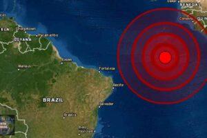 Sismo de magnitud 5.9 Atlántico Medio
