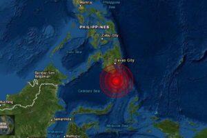 Sismo de magnitud 6.1 en Filipinas