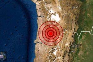 Sismo en Antofagasta de Chile