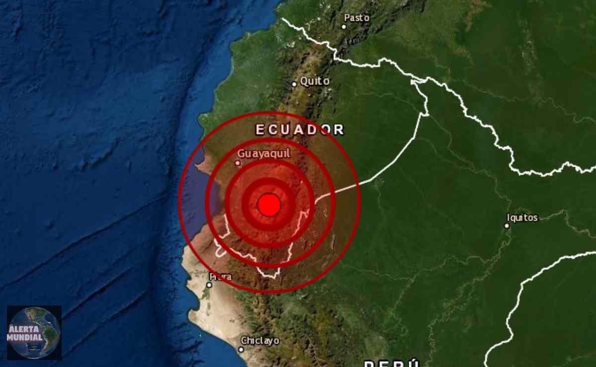 Sismo en Guayas del Ecuador 2