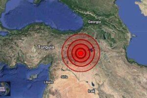 Sismo en Siirt de Turquía