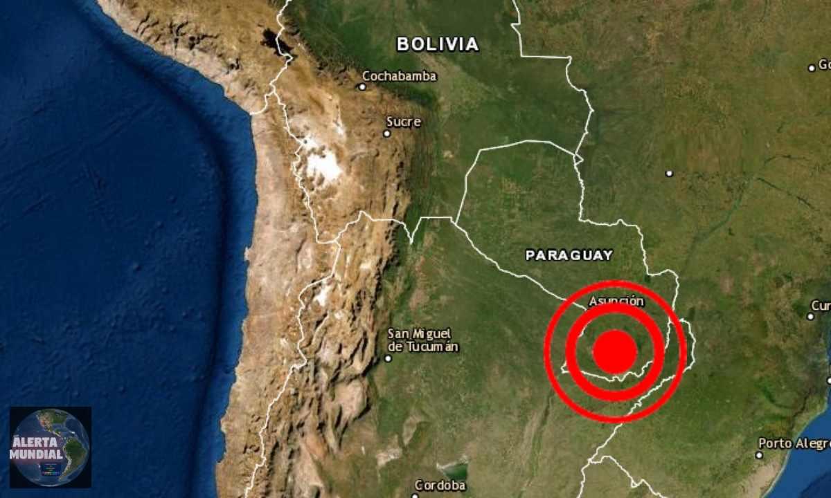 Sismo raro de magnitud 3.3 sorprende a Misiones, Paraguay