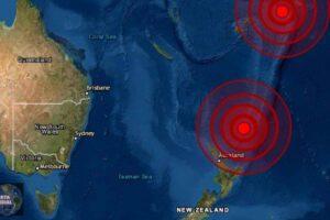 Sismos en Kermadec y Tonga
