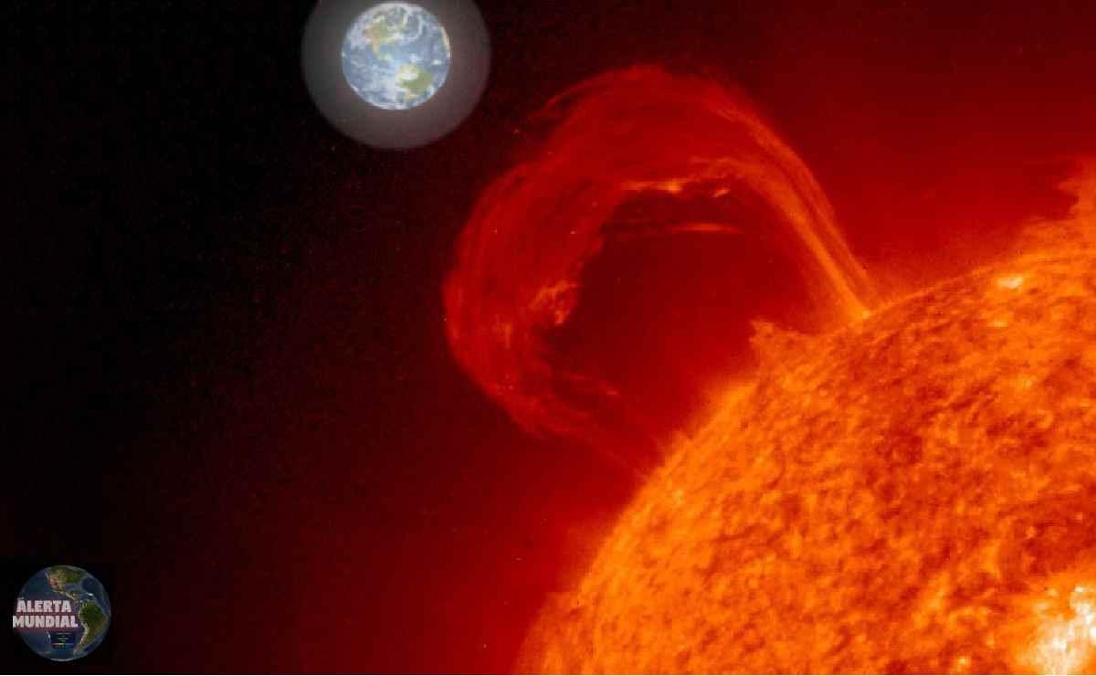 Tormenta solar más fuerte del año para golpear la Tierra