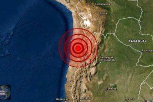 sismo de magnitud 5.8 en Antofagasta
