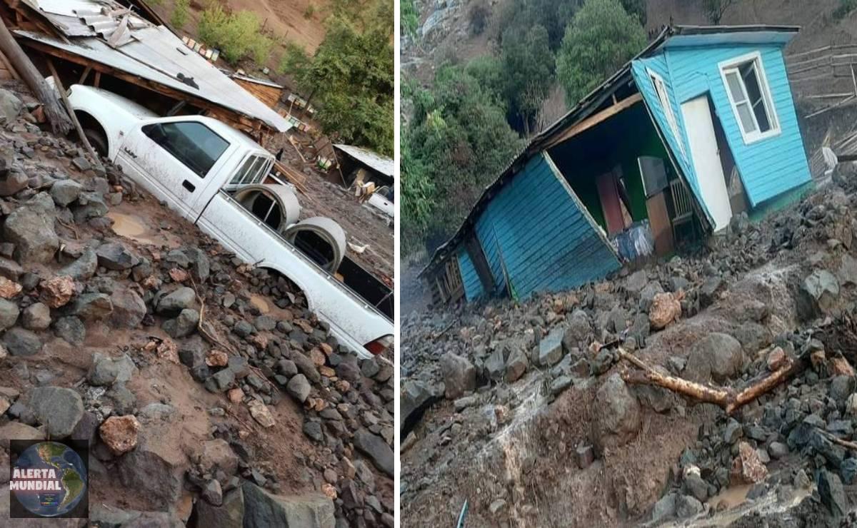 Enorme deslizamiento de Tierra se produce en Malloa