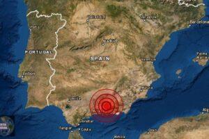 Pánico en Granada tras un fuerte sismo que daña viviendas y supermercados