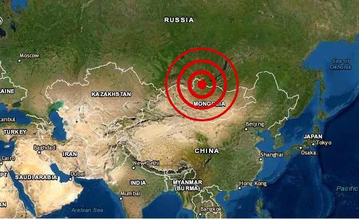 Potente terremoto sacude Mongolia y Rusia