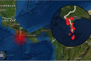 Potentes sismos estremecen Costa Rica y Panamá