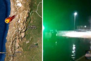 Reportan caída de meteorito, minutos después el mar se sale en Antofagasta